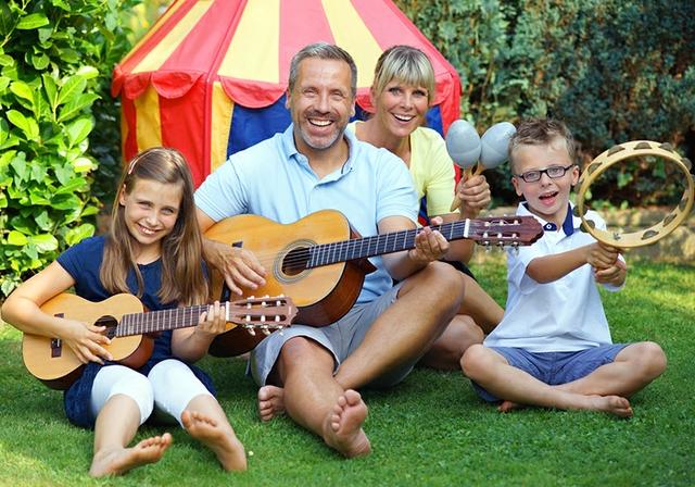 Eine Familie macht Musik