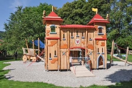 Themenspielplatz in Bad Feilnbach/Au eröffnet