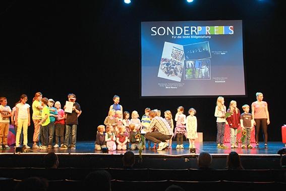 Kinderfotopreis Lightpainting Weltrekord