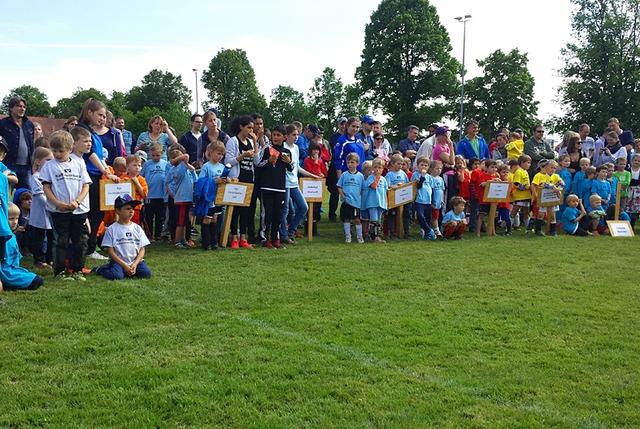 Föchinger Kindergarten-Fußballturnier