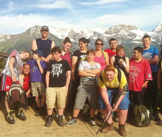 Trotz Handicap auf den Berg