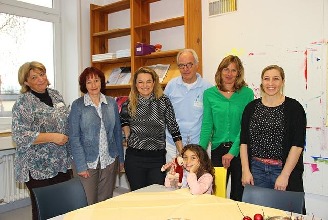 RoMed - Anni Friesinger besucht Kindernachsorge.JPG