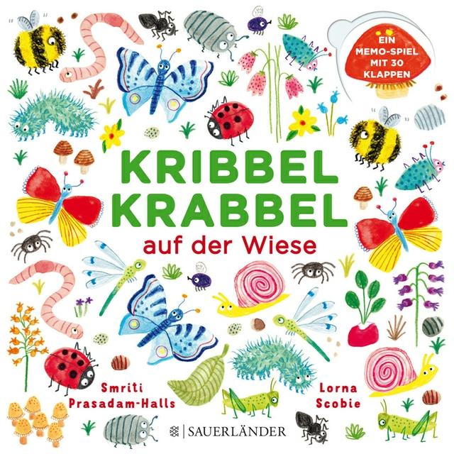 Kribbel Krabbel auf der Wiese.JPG