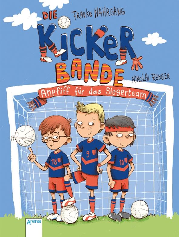 Die Kicker Bande Anpfiff fuer das Siegerteam.jpg