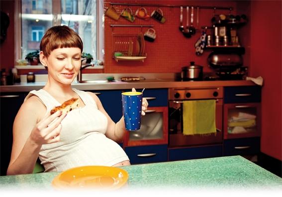 Übergewicht beginnt im Mutterleib