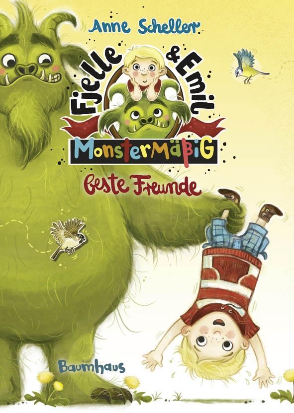 Fjelle & Emil: Monstermäßig beste Freunde