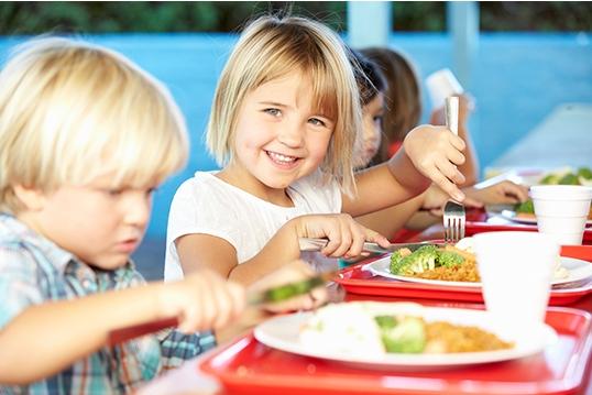 Ernährung in Schule und Kindergarten