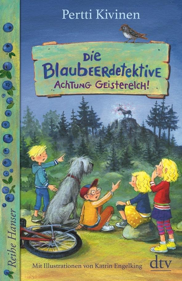 Die Blaubeerdetektive, Buch 2: Achtung Geisterelch!