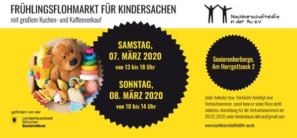 Frühlingsflohmarkt für Kindersachen