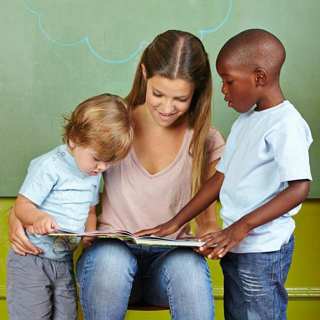 Lesebegeisterung von klein auf!