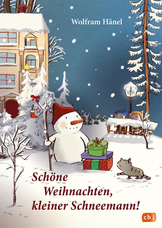 Schöne Weihnachten kleiner Schneemann
