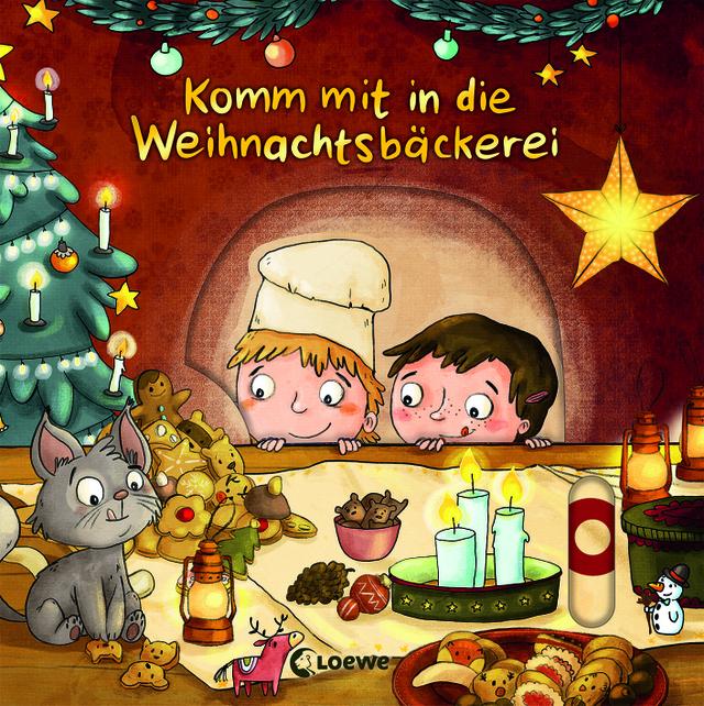 Komm mit in die Weihnachtsbäckerei