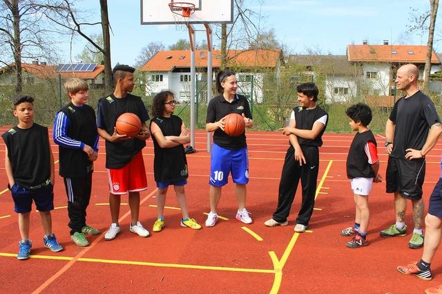 Sportliche Nachbarschaftshilfe